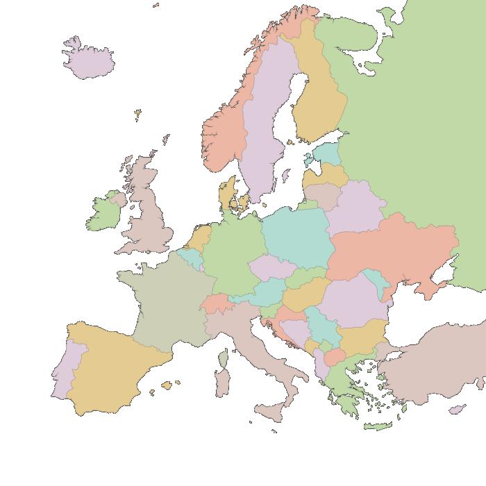 European Word Translator An Interactive Map