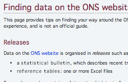 ONS Data Tips